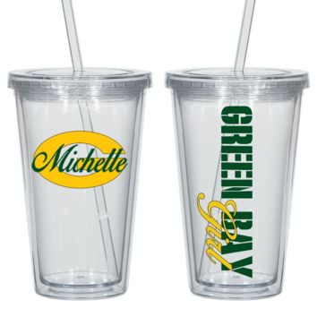 Highest Quality Green Bay Acrylic Cup - Free Shipping