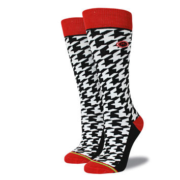 The Sam - Women's Houndstooth Socks