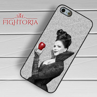 Once upon a time regina fruit she was holding -EDH for iPhone 4/4S/5/5S/5C/6/6+,samsung S3/S4/S5/S6 Regular/S6 Edge,samsung note 3/4