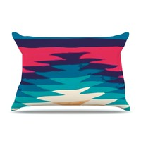 "Nika Martinez ""Surf"" Pillow Case"