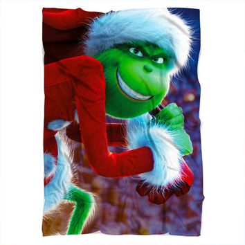 Grinch Stole Christmas Blanket
