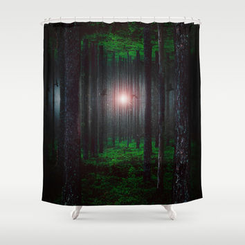 Pressure Shower Curtain by HappyMelvin