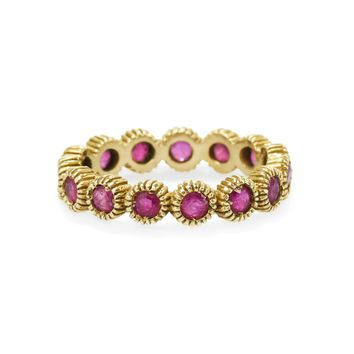 Youth Eternity Ruby Ring