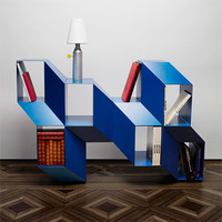Rocky Bookshelf by Charles Kalpakian for La Chance - Free Shipping