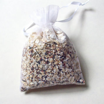 Bath Tea Bag - Oatmeal with Peach tea and Vanilla