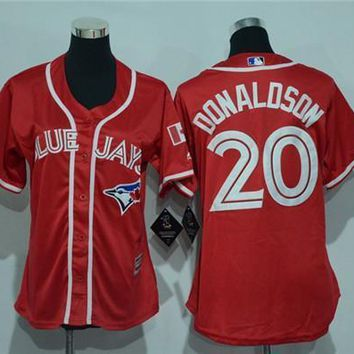 Women's Toronto Blue Jays #20 Josh Donaldson Cool Base Player Jersey