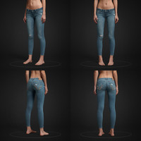 Hollister Skinny Ankle Jeans