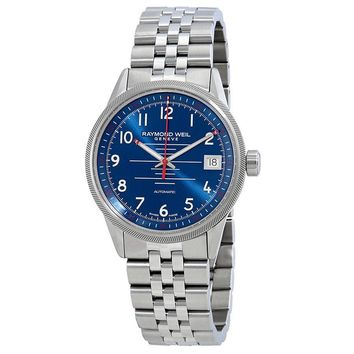 Raymond Weil Freelancer Blue Dial Automatic Mens Watch 2754-ST-05500