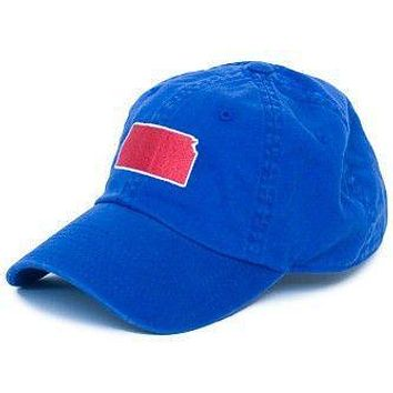 Kansas Lawrence Gameday Hat in Blue by State Traditions