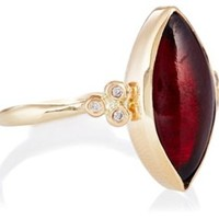 10K Marquis Garnet Ring, Stone & Novelty Rings