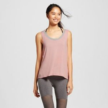 sWEat-by-Whitney-Port-Women-039-s-Wear-It-Front-or-Back-Tank-Top