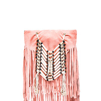 Wild Belle Cross Body Pouch in Coral