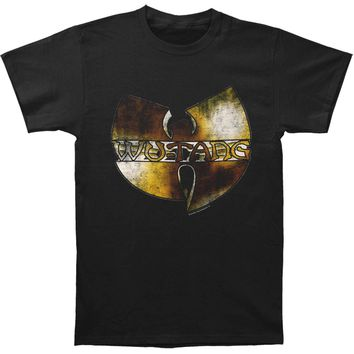 Wu Tang Clan Men's  Underground Tour Mens Soft T Slim Fit T-shirt Black