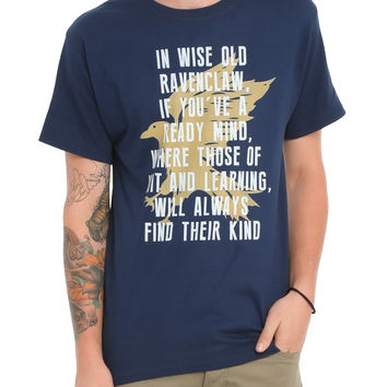 Harry Potter Ravenclaw Sorting T-Shirt