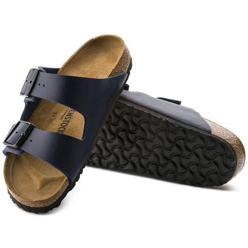 Sale Birkenstock Arizona Birko Flor Blue 0051751/0051753 Sandals