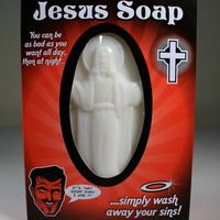 Soap - Jesus Soap - Wash Away Your Sins - Bathroom - Mens