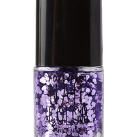 FOREVER 21 Purple Maven Glittered Nail Polish Purple/Clear One