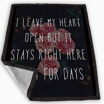 One Direction Story of My Life Blanket for Kids Blanket, Fleece Blanket Cute and Awesome Blanket for your bedding, Blanket fleece **