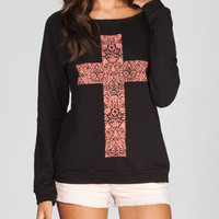 LIRA Cross Womens Sweatshirt