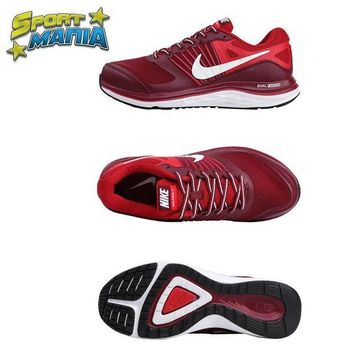 LMFON Ready Stock' NIKE DUAL FUSION X1 'Red' Men Sport Running shoes