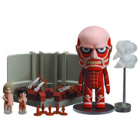 Attack on Titan Nendoroid : Colossus Titan & Attack Playset