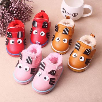 Baby Warm Winter Bunny Boots
