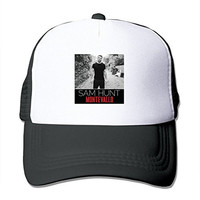TOMLE Sam Hunt Montevallo Snapback Mesh Caps Adjustable Printing Baseball Hats