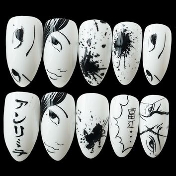 Anime Press On Nails