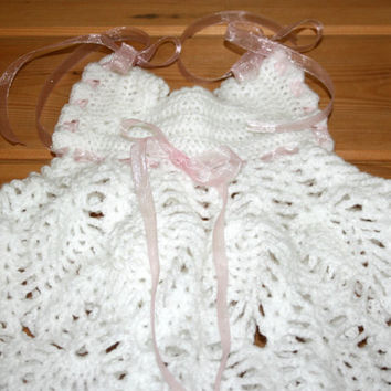 etsy, baby, store, crochet, dresses, white, baby clothes, dress, newborn baby girl clothes, NB, 0 -3m, babies, etsy baby, baby shower, gifts