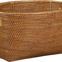 Sedona Oval Basket with Handle