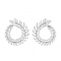A Gorgeous Pair of Diamond Earrings