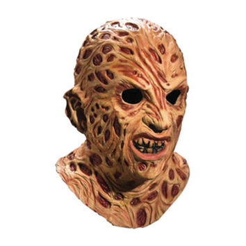 Nightmare On Elm Street Men's Mask Brown