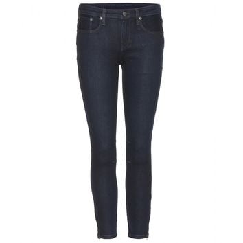 helmut lang - cropped skinny jeans