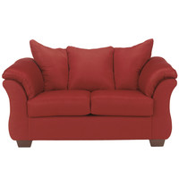 Darcy Loveseat in Salsa Fabric