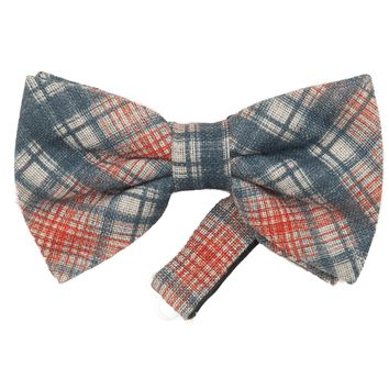 Donatello-Linen Cotton Handmade Pre-Tied Bow