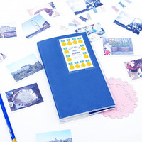 Kawaii Photo Album Fujifilm Instax Mini Film Holders Name Card Holder Blue