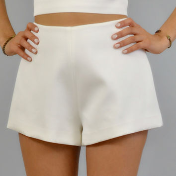 Keepsake Morning Shadows Shorts in Ivory