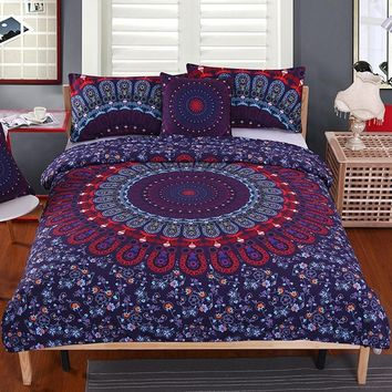 Mandala Bedding Set 4Pcs