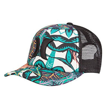 Hurley One and Only Women's Trucker Hat - Hyper Jade / Black