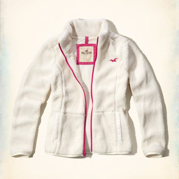 Girls 3-In-1 Sherpa Jacket Liner | Girls Clearance | HollisterCo.com