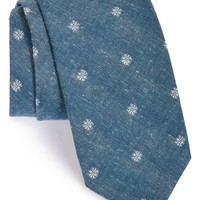 Men's Jack Spade Floral Cotton Blend Tie