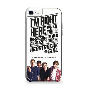5 Seconds Of Summer With Quotes iPhone 6 | iPhone 6S Case