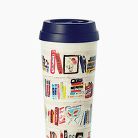 Kate Spade Like A Book Thermal Mug Bookshelf ONE