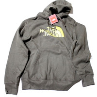 The North Face Half Dome Hoodie Men's Brown/Yellow Outdoor Sweater Shirt