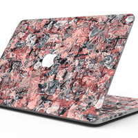 Abstract Wet Paint Pale Pink - MacBook Pro with Retina Display Full-Coverage Skin Kit