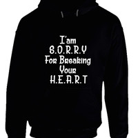 Adele Hello I Am Sorry For Breaking Your Heart ARF Hoodie