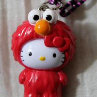 Hello Kitty Elmo  Necklace