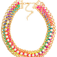 Rocio Threaded Necklace
