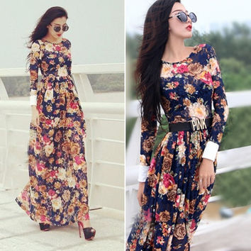 Sexy Women Summer Boho Long Maxi Evening Party Skirts Beach Dresses Lace Dress N D_L = 1713306564