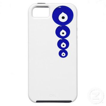 iphone-Evil Eye Bead iPhone 5 Case from Zazzle.com